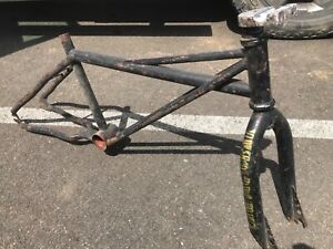 SE Racing 1983 Quadangle Frame landing gear forks ,Old school vintage BMX No Res