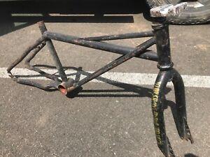 SE Racing 1983 Quadangle Frame landing gear forks ,Old school vintage BMX No Res