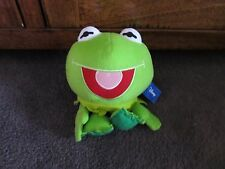 MUPPETS...the muppets...frog ..KERMIT the FROG...soft toy of Kermit, big headed!