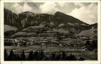 Bad Oberdorf Allgäu Postkarte ~1950/60 Gesamtansicht mit Kurhotel Luitpoldbad