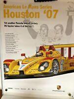 Porsche Poster American Lemans Houston 2007 RS Spyder Poster