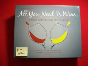 """WHEN ALL YOU WANT IS FUN- """"ALL YOU NEED IS WINE""""-A BLIND WINE TASTING PARTY GAME"""