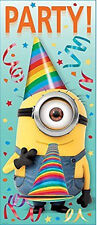 DESPICABLE ME Scene Setter BIRTHDAY party wall door poster Disney decor MINION