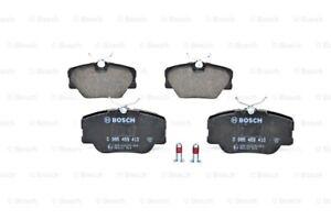BOSCH Disc Brake Pads SET Front Rear Axle Fits MERCEDES 190 W124 1984-1998