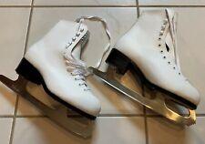 Nib Ccm Pirouette Patins Artistiques Figure Ice Skates Women's 6 37 white