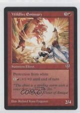 1996 Magic: The Gathering - Mirage Booster Pack Base #NoN Wildfire Emissary 0a1