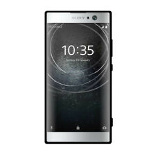 AMZER Pudding TPU Skin Fit Soft Case Cover - Black For Sony Xperia XA2