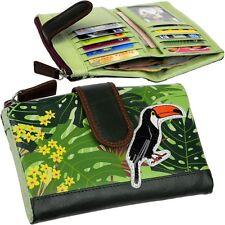 Chiemsee Colorido Monedero de mujer, pájaro Monedero Pájaro purse (L) NUEVO