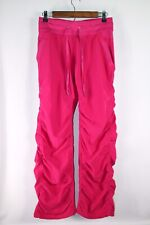 Kyodan Women's Medium Pink Ruched Legs Activewear Pants