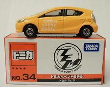 Takara Tomy Tomica Event Model No.34 Toyota Aqua 1 : 59 Prius C (4904810813552)