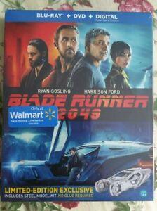 BLADE RUNNER 2049 Blu-ray/DVD/Digital Spinner Steel Model Kit Walmart Exclusive