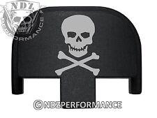 Rear Slide Plate for Smith Wesson S&W SD9 SD40 VE 9mm 40BK Skull Crossbones 3