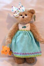 "Bearington Bears Plush Goldie And Cookie Dressed  Bear 10"" 143219"