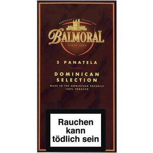 10 x Balmoral DS Panatela Zigarren 5 Stück