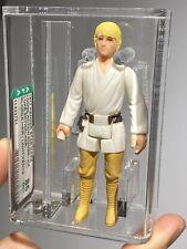 AFA 85 Star Wars 1977 Loose Luke Skywalker Farmboy Blonde Light Pants Kenner NM+