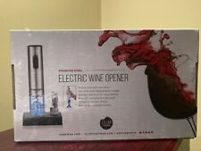 Chefman Electric Wine Bottle Opener Stainless Steel Rechargeable, brand new!