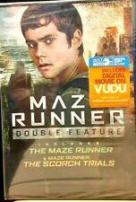 Maze Runner Double Feature Starring Dylan O'Brien DVD NEW