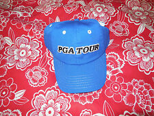 MENS PGA TOUR GOLF BASEBALL HAT CAP ONE SIZE FITS MOST NEW WITH TAG BLUE