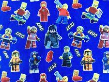 FQ LEGO MEN FIGURES BRICKS BLOCKS HARRY POTTER  POLYCOTTON FABRIC  CHARACTER