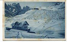 1933 Scuola Alpina di R. Guardia Finanza Predazzo Guller Trento FP B/N VG ANIM