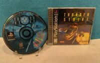 Thunderstrike 2 (Sony PlayStation 1, 1995) with Manual - Tested & Working