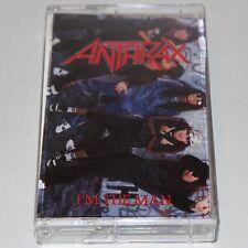 Anthrax Cassette Tape I'm The Man Thrash Heavy Metal '87 Megaforce Maxi Single