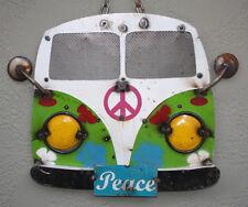 Metal Volkswagen Sign Gas Oil Garage Man Cave Garage Car Front Bug Beetle Bus