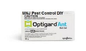 OPTIGARD ANT BAIT GEL PROFESSIONAL x2 + 4 ant bait stations