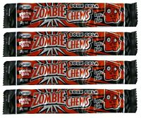 Bulk Lollies 20 x Zombie Chews Sour Cola Mega Size 28g Candy Buffet Sweets