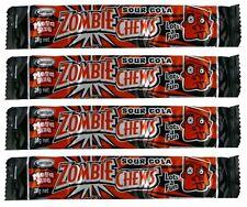 Bulk Lollies 20 x Zombie Chews Sour Cola Mega Size 28g Candy Buffet Sweets