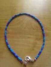 blues bead anklet/ankle bracelet beach, summer,funky