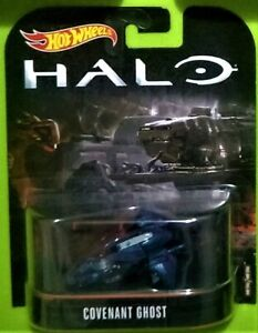 2017 HOT WHEELS ENTERTAINMENT - HALO - COVENANT GHOST - NEW ON CARD