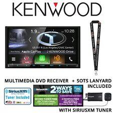"Kenwood DNX994S DVD Navigation 6.95"" Touchscreen HD Radio SiriusXM SXV300v1 Pkg"