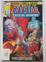 The Saga of Crystar, Crystal Warrior #1 May 1983, Marvel Comics