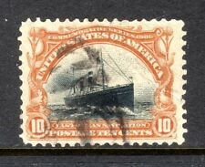 Sc# 299 10 Cent Pan American Expo (1901) VF Used Single SCV $30.00