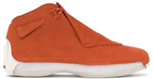 Air Jordan 18 Retro Campfire Orange AA2494-801 Men's Size 10.5