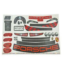 Power Wheels CDD15 Porsche Ride On Toy Label Decal Sheet Genuine Fisher Price