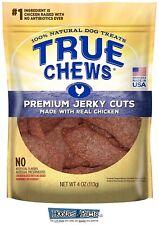 True Chews Dog Treats Premium Chicken Jerky 4oz Made in USA