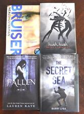 Lot 4 YA/Teen NY Times Bestseller Hush, Hush, Fallen, Bruiser, Secret Sea S17