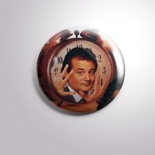 "GROUNDHOG DAY COMEDY FILM BILL MURRAY - Pinbacks Badge Button 2 1/4"" 59mm"
