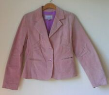 Wilsons Maxima Leather Jacket * L * Pink * Sleek Design * Gorgeous Tailoring