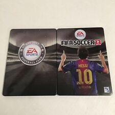 FIFA Soccer 13 Game in Steel Book Case Xbox 360
