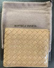 Bottega Veneta Mens Wallet Camel 196207 Made In Italy dust bag, original tag