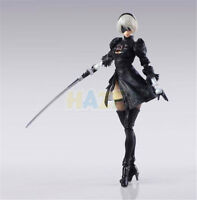 "Anime NieR:Automata 2B YoRHa No. 2 Neal 6"" PVC Action Figure Model Statue Toy"