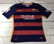Nike #11 Neymar Jr. FC Barcelona FCB Dri Fit Soccer Team Jersey Sz M