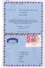 BP22 1963 FIJI Suva Air Letter FDC?