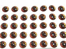 50 Pieces Blank Lure Black Laser Red Fishing Eyes UPERL