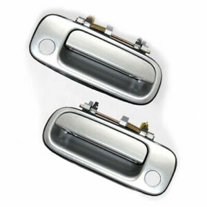 MotorKing For 92-96 Toyota Camry DS326 Set Of 2 Outside Door Handle Silver 176
