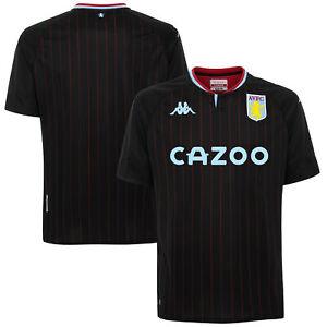 Aston Villa Away Stadium Sports Football Shirt Top 2020-21