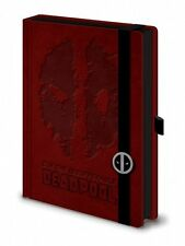 MARVEL DEADPOOL PREMIUM A5 BOUND NOTEBOOK 100% OFFICIAL QUALITY MERCH